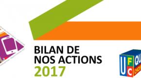 Bilan de nos actions  nationales 2017